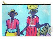Women On Beach At Grenada Carry-all Pouch