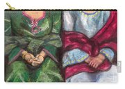 Women Wearing Shawls II Carry-all Pouch