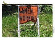 Women Working Carry-all Pouch
