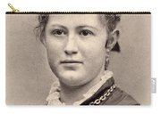Women's Hairstyle, C1890 Carry-all Pouch