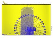 Wonderwheel In Blue And Yellow Carry-all Pouch