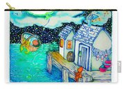 Woobies Character Baby Art Colorful Whimsical Design By Romi Neilson Carry-all Pouch