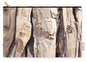 Wood Abstract Carry-all Pouch
