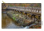 Wood Bridge And Autumn Color Carry-all Pouch