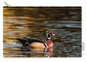 Wood Duck At Morning Carry-all Pouch