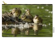 Wood Duck Babies Carry-all Pouch