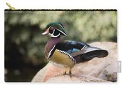Wood Duck Drake In Breeding Plumage Carry-all Pouch