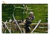 Wood Duck Family Carry-all Pouch