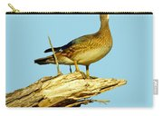 Wood Duck Hen In Tree Carry-all Pouch