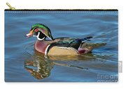Wood Duck Male Calling Carry-all Pouch