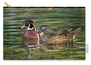 Wood Duck Pair Carry-all Pouch