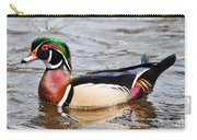 Wood Duck Profile Carry-all Pouch