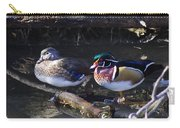 Wood Duck Reflections Carry-all Pouch