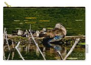 Wood Duck Rest Time Carry-all Pouch
