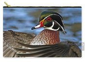 Wood Duck Standing Ovation Carry-all Pouch