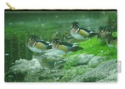 Wood Ducks Hanging Out Carry-all Pouch
