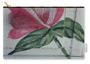 Wood Flower Carry-all Pouch
