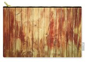 Wood Panels Carry-all Pouch