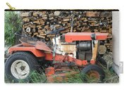 Wood Pile And Lawn Tractor Carry-all Pouch