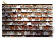 Wood Roof Shingles Carry-all Pouch