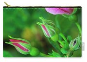 Wood Rose Buds Rosa Woodsii Wild Carry-all Pouch