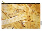 Wood Splinters Background Carry-all Pouch