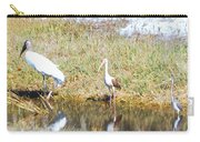 Wood Stork And Ibis And Heron Carry-all Pouch