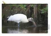 Wood Stork In The Swamp Carry-all Pouch