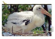 Wood Stork Nestling Carry-all Pouch