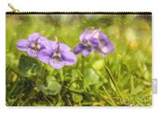 Wood Violet Carry-all Pouch
