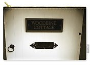 Woodbine Cottage - In Bakewell Town Peak District - England Carry-all Pouch