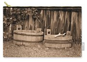 Wooden Buckets Carry-all Pouch