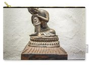 Wooden Buddha Statue Carry-all Pouch