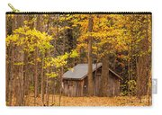 Wooden Cabin In Autumn Carry-all Pouch