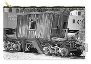 Wooden Caboose Carry-all Pouch