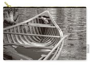 Wooden Canoe Carry-all Pouch