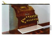 Wooden Cash Register Carry-all Pouch