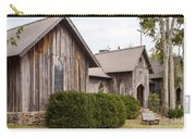 Wooden Country Church Carry-all Pouch