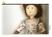 Wooden Doll Carry-all Pouch by Margie Hurwich
