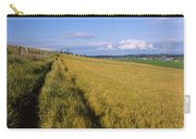 Wooden Fence Along A Farm, Ebeys Carry-all Pouch