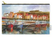 Wooden Fishing Boats In The Whitby Fleet Of Northern England Carry-all Pouch