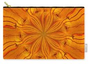 Wooden Flower Carry-all Pouch