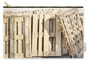 Wooden Pallets Carry-all Pouch by Tom Gowanlock