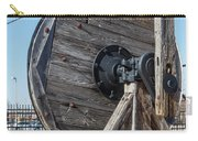 Wooden Pully Carry-all Pouch