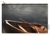 Wooden Rowboat Carry-all Pouch