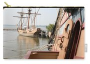 Wooden Sailingships Carry-all Pouch