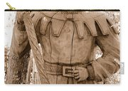 Wooden Sherwood Forest Carving Carry-all Pouch