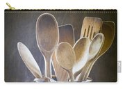Wooden Spoons Carry-all Pouch by Jan Bickerton