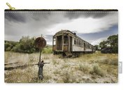 Wooden Train - Final Resting Place  Carry-all Pouch