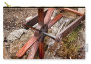 Wooden Water Wheel Carry-all Pouch